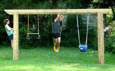 arbor swing set - Google Search