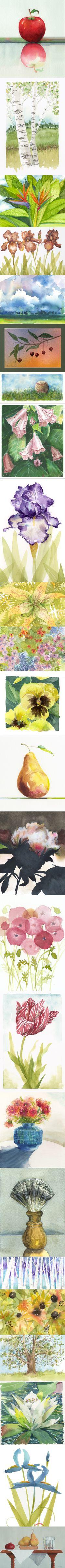 watercolors by jake marshall