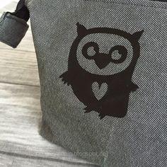 Täschchen OWL LOVE Plotter Freebie