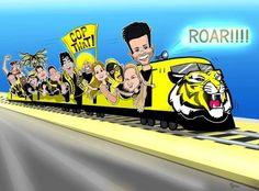 Richmond Football Club, Football Team Logos, Tigers, Comic Books, Comics, Boys, Baby Boys, Cartoons, Cartoons