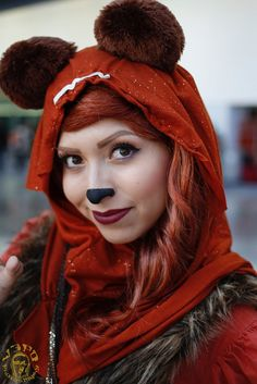 Cosplay Ideas, Costume Ideas, Halloween 2018, Halloween Costumes, Star Wars Fancy Dress, The Birthday Massacre, Star Wars Celebration, Ewok, Star Wars Party
