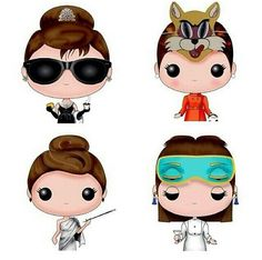 Audrey Hepburn. Breakfast at Tiffany's. Cartoon Drawings. Love it