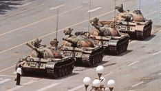 Perhaps one of my favorite historical images: the iconic photo of Tank Man, the unknown rebel who stood in front of a column of Chinese tanks in an act of defiance during the Tiananmen Square protests of Famous Photos, Iconic Photos, Richard Avedon, We Are The World, Change The World, Chinese Tanks, Fotojournalismus, Marc Riboud, Empire Ottoman