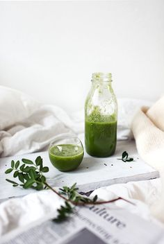 Kiwi, Spinach and Apple Juice | Uusia Tuulia, October 2014