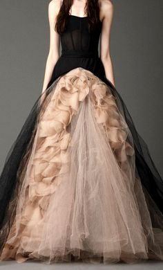Love this open designer gown.