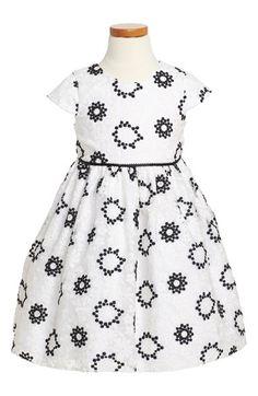 Pippa & Julie Floral Embroidered Dress (Toddler Girls, Little Girls & Big Girls) available at #Nordstrom