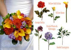 autumn wedding bouquets - Google Search