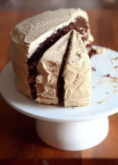 Chocolate Cake with Peanut Butter Frosting | Buttered Side Up by Erica Lea, via Flickr
