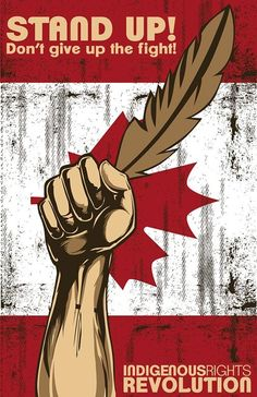 First Nations protest Canada