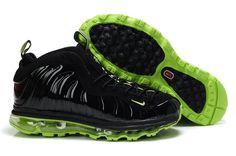 official photos e208a 626d5 Foamposite Air Max Fusion Army Green Black Air Jordan Shoes, Michael Jordan  Shoes, Penny