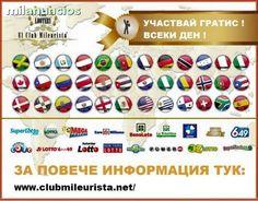 . Te invito a que conozcas Club Mileurista y te pongas en contacto conmigo si deseas comenzar a participar en los mayores premios de loter�as y apuestas del estado y premios mundiales. A la pe�a se entra con simplemente 20 euros participando todos los d�as
