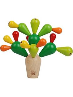Plan Toys Plan Toy Balancing Cactus ❤ PlanToys