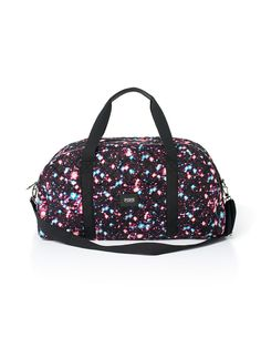 Large Quilted Duffle - PINK - Victoria's Secret- Galaxy print