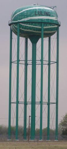 Weird water towers across the USA