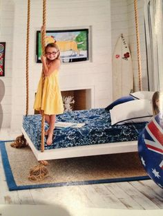 Hanging bed ideas - Design Dazzle