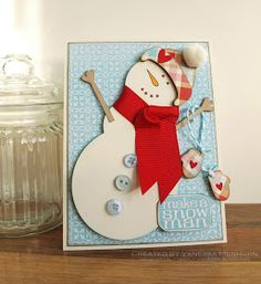 wings of a butterfly: Make a Snowman