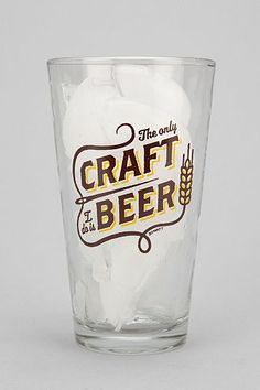 the only craft i do is beer.