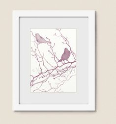 Hey, I found this really awesome Etsy listing at https://www.etsy.com/listing/196385038/pink-mauve-bathroom-wall-art-bird-print