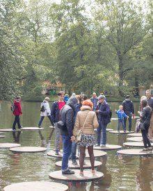 People at Keukenhof Netherlands