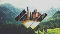 23 Incredible Polyscape Wallpapers.