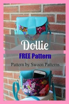 Dollie Mini Crossbody Bag - FREE Pattern - My Handmade Space