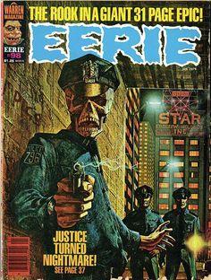 Eerie horror comics
