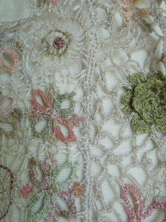 """the Fairy"" small scarf — Sophie Digard crochet"