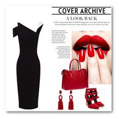 """Red ladylike"" by abecic ❤ liked on Polyvore featuring Antonio Berardi, Prada, Oscar de la Renta, women's clothing, women's fashion, women, female, woman, misses and juniors"