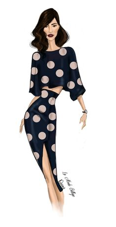 Fashion Illustration of Fashion Design Label- Manning Cartell- for Mercedes Benz Fashion Week- Australia 2015. #fashionweek #fashionsketch #fashionillustration  For the latest Fast Track Fashion Design Courses- visit: http://www.lamodecollege.com