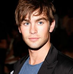 Chace Crawford... I'm such a sucker for dark hair and blue eyes.