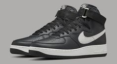new product 29a1d a53f6 Nike Air Force 1 OG QS Black Grey   Sole Collector Ver Modelos, Zapatillas,  · Ver ModelosZapatillasZapatillas Para Correr ...