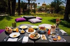 brunch marrakech palais namaskar