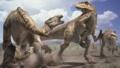From cataracts and caterpillars to a planet overrun with males: The 10 strangest dinosaur extinction theories ever suggested by experts Walking With Dinosaurs, Dinosaur Fossils, Dinosaur Art, Dinosaurs Extinction, Dinosaur Pictures, Prehistoric Creatures, Prehistoric Wildlife, Jurassic Park World, Wild Creatures