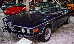 1972 BMW 3.0 CS convertible - navy blue