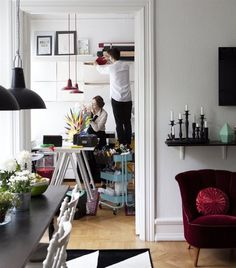 How One Swedish Couple Lives (and Works!) Together in a Little Apartment — IKEA Family Live
