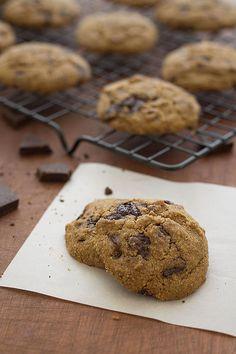 Chocolate Chip Cookies (Paleo, Grain Free, Gluten Free, Refined Sugar free) | Slim Palate