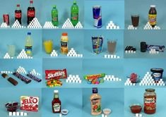 Take a look at how many sugar cubes are in some popular beverages and snacks to put some popular choices into perspective for you. Dentaltown - What 2000 Calories Looks Like Bad Sugar, Dental Office Decor, How Much Sugar, Skinny Fiber, Sugar Cubes, 2000 Calories, Science Fair Projects, Mindful Eating, Dental Hygiene