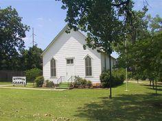 Exploring Oklahoma History - Redbud Chapel - Historic Place in Stephens County (BlogOklahoma.us)
