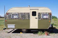62 Best Hunting Trailer Renovation Images Campers