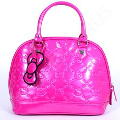 hello kitty purses and bags | Beadesaurus :: Loungefly Hello Kitty Pink Embossed Bag