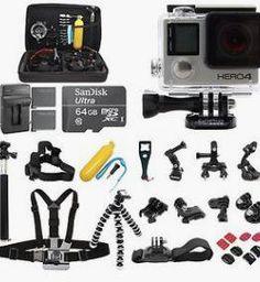 GoPro HERO4 +64GB SanDisk +2 Battery  $419.99 reg. >$669.99 http://wp.me/p3bv3h-8Ut