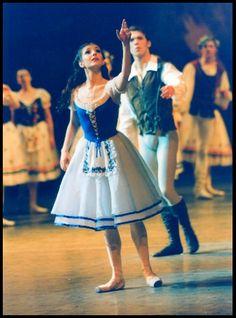 Alina Cojocaru, Johan Kobborg in Giselle