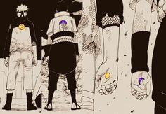 Sun / Moon. Yin / Yang. Ha / Tha. Naruto / Sasuke