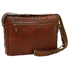 Leather Messenger/Messenger Inch Laptop Bag/Italian Leather/Handmade Bag/Made In Italy - SKU: Leather Bags Handmade, Handmade Bags, Laptop Bag, Italian Leather, Bag Making, Messenger Bag, Shoulder Strap, Satchel, Phone Holder