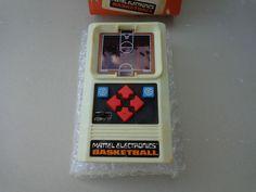 Vtg 1978 Mattel Electronics Handheld Basketball Video Game In Box Works #Mattel
