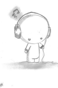Chibi Headphones by metanner on deviantART