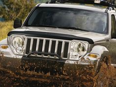 Jeep Liberty. The prettiest thing I've ever seen!