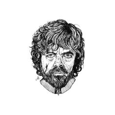 """Tyrion Lannister . . """"Never forget what you are. The rest of the world will not. Wear it like armor and it can never be used to hurt you."""" . . #sketch #illustration #drawing #darkartists #blackworkers #instaart #art #design #artwork #fineart #blackworkersubmission #blacktattooart #graphicdesign #tattoo #blackwork #portrait #blackandwhite #fineliner #lineart #blacktattooart #dotwork #painting #portrait #got #tyrionlannister #lannister #gameofthrones #gnome  #quotes #peterdinklage"""