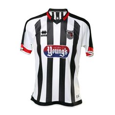 Grimsby Town home shirt for 2017-18. Football Jerseys 25adc3a78