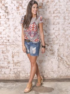 #debrummodas #verão #coleção #shorts #jeans #blusa #modafeminina #moda #style #estilo #fashion